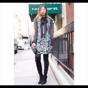 "Alice and Olivia ""Odell Embroidered Dress"""